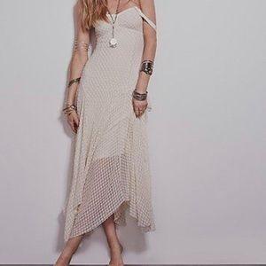 Free People Polkadot Tube Dress